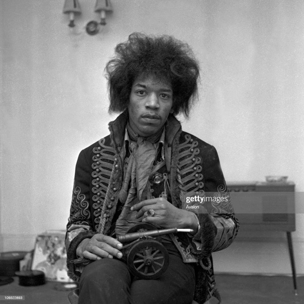 American Rock Singer and Guitarist Jimi Hendrix