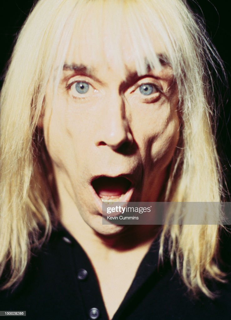 American rock singer Iggy Pop, London, 29th January 1996.
