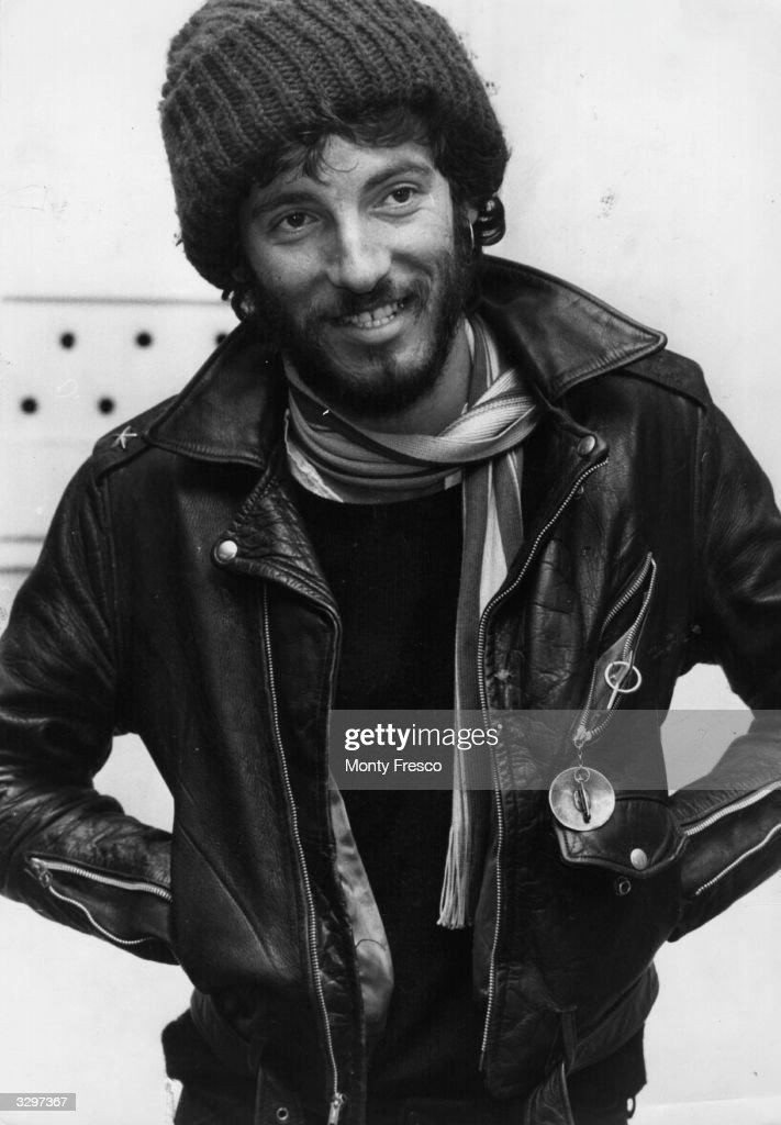American rock singer songwriter and guitarist Bruce Springsteen