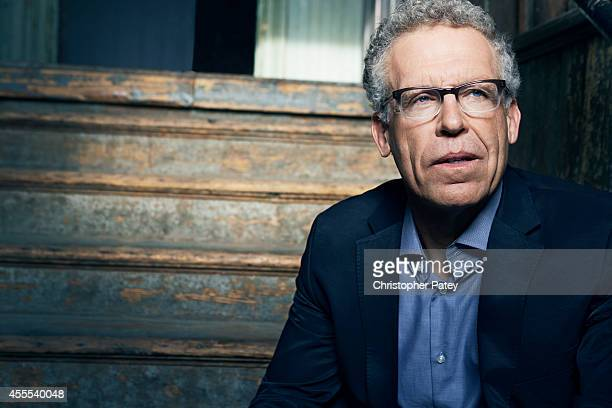 American screenwriter and producer Carlton Cuse is photographed for The Hollywood Reporter on April 17 2014 in Los Angeles California PUBLISHED IMAGE