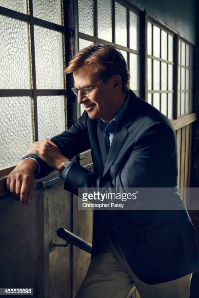 American screenwriter producer and playwright Aaron Sorkin is photographed for The Hollywood Reporter on May 12 2014 in Los Angeles California...