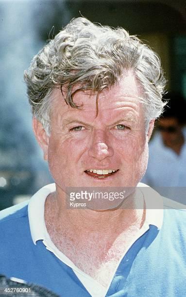 American Senator Ted Kennedy circa 1988