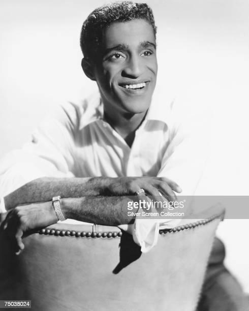 American singer actor and dancer Sammy Davis Jr circa 1960