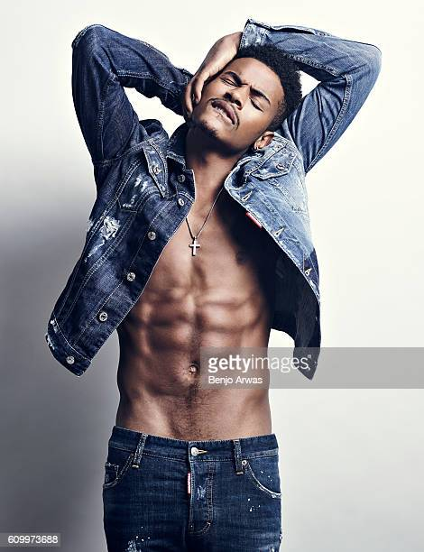 American singer actor songwriter and dancer Trevor Jackson is photographed for Self Assignment on January 9 2016 in Los Angeles California