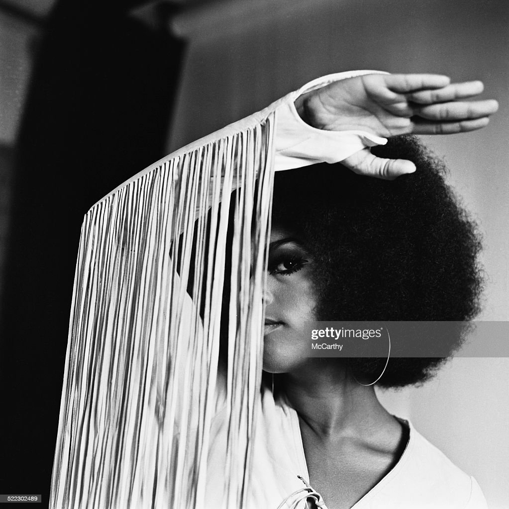 American singer actress and model Marsha Hunt 21st August 1969