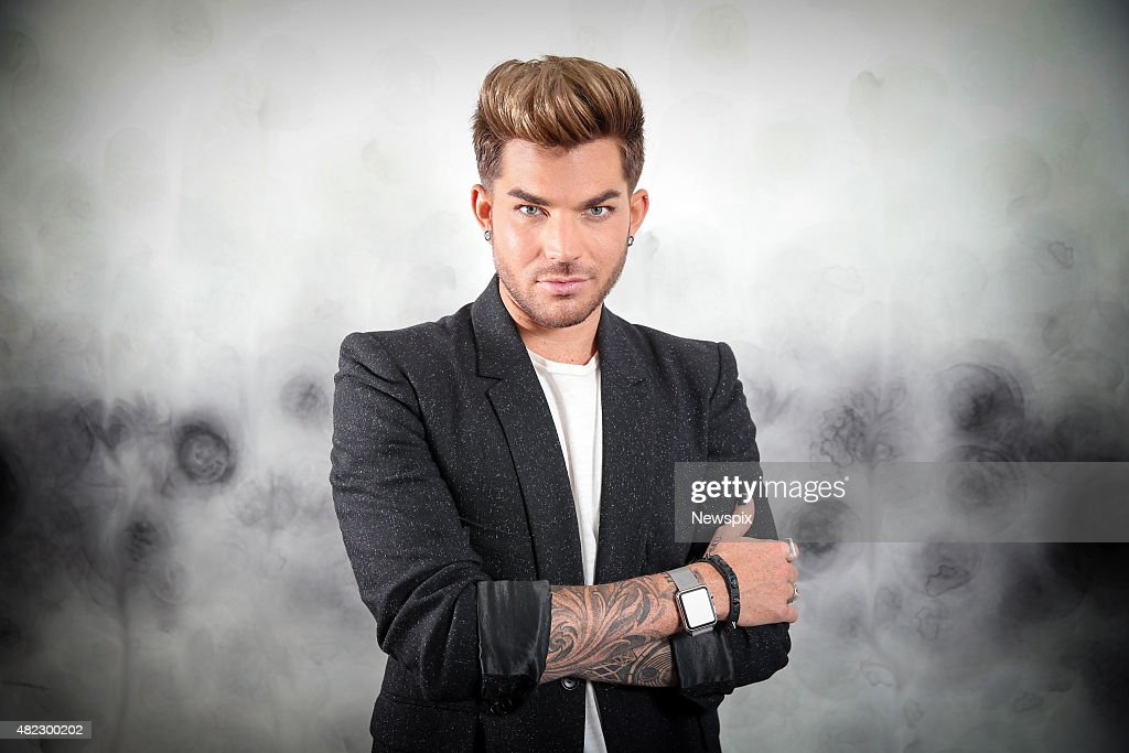 American singer <a gi-track='captionPersonalityLinkClicked' href=/galleries/search?phrase=Adam+Lambert&family=editorial&specificpeople=5706674 ng-click='$event.stopPropagation()'>Adam Lambert</a> poses during a photo shoot at The Darling Hotel in Sydney, New South Wales.