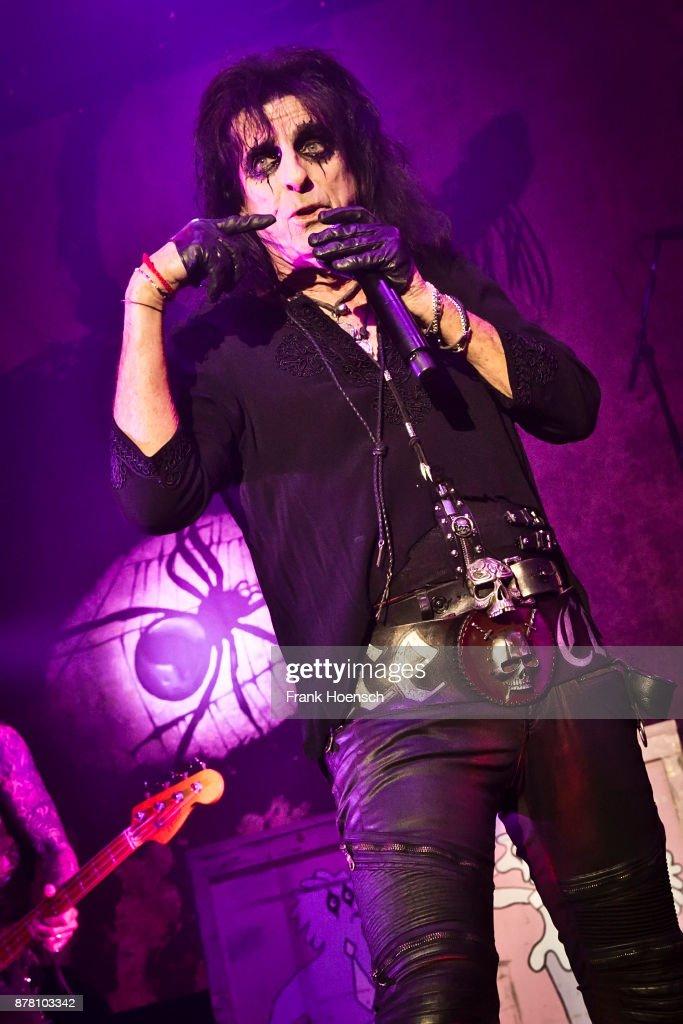 Alice Cooper Performs In Berlin