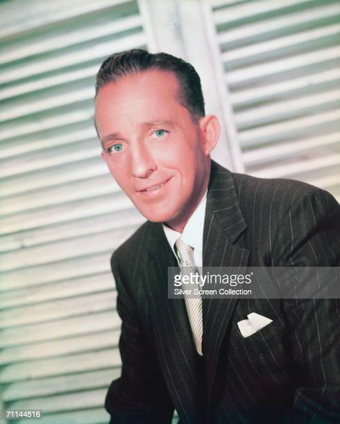 American singer and actor Bing Crosby circa 1950