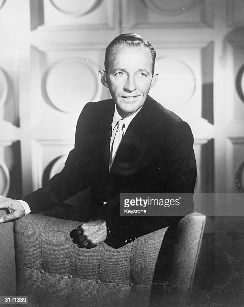 American singer and actor Bing Crosby