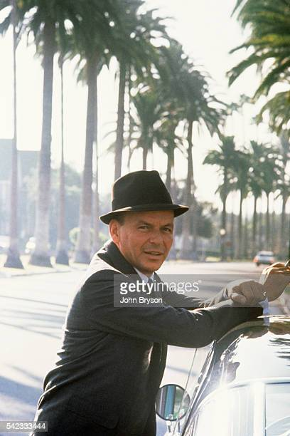 American singer and actor Frank Sinatra.