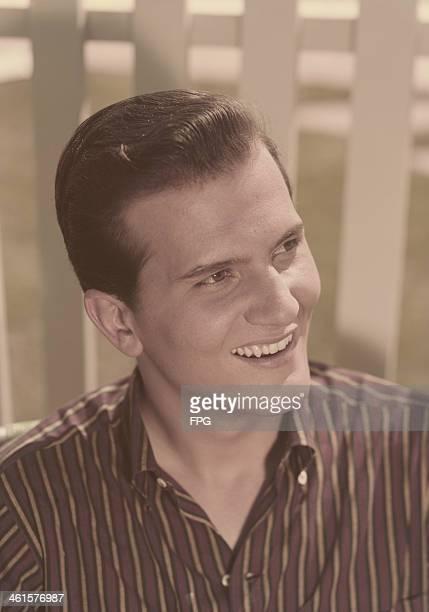 American singer and actor Pat Boone circa 1960