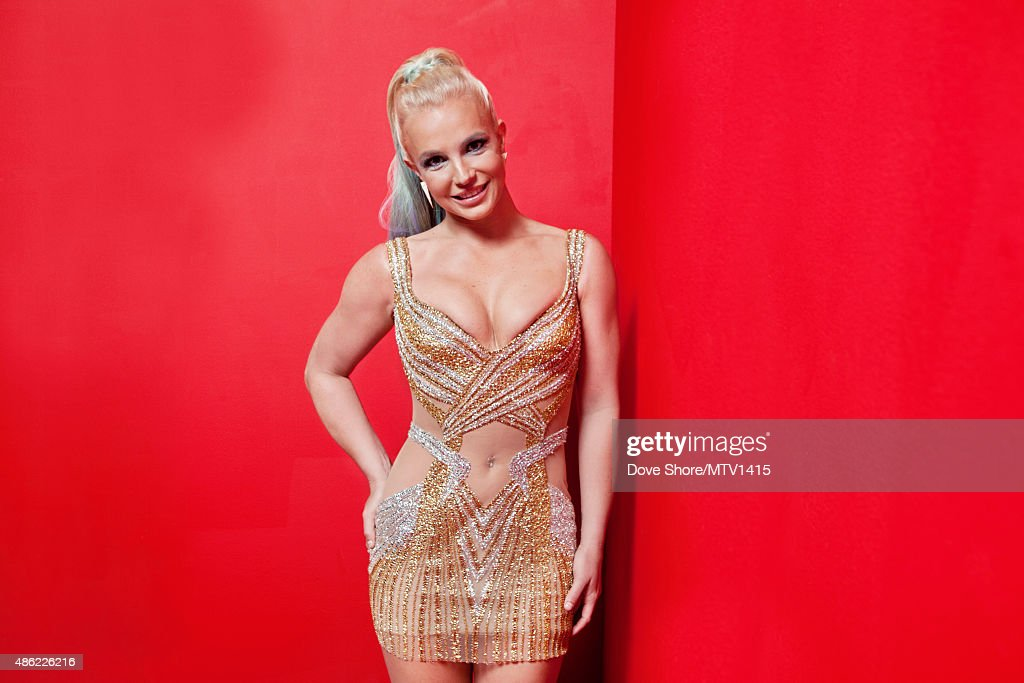 American singer and actress <a gi-track='captionPersonalityLinkClicked' href=/galleries/search?phrase=Britney+Spears&family=editorial&specificpeople=156415 ng-click='$event.stopPropagation()'>Britney Spears</a> is photographed at the 2015 MTV VMA Awards on August 30, 2015 at the Microsoft Theater in Los Angeles, California.