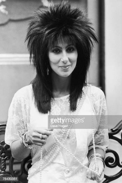 American singer and actress Cher 1985