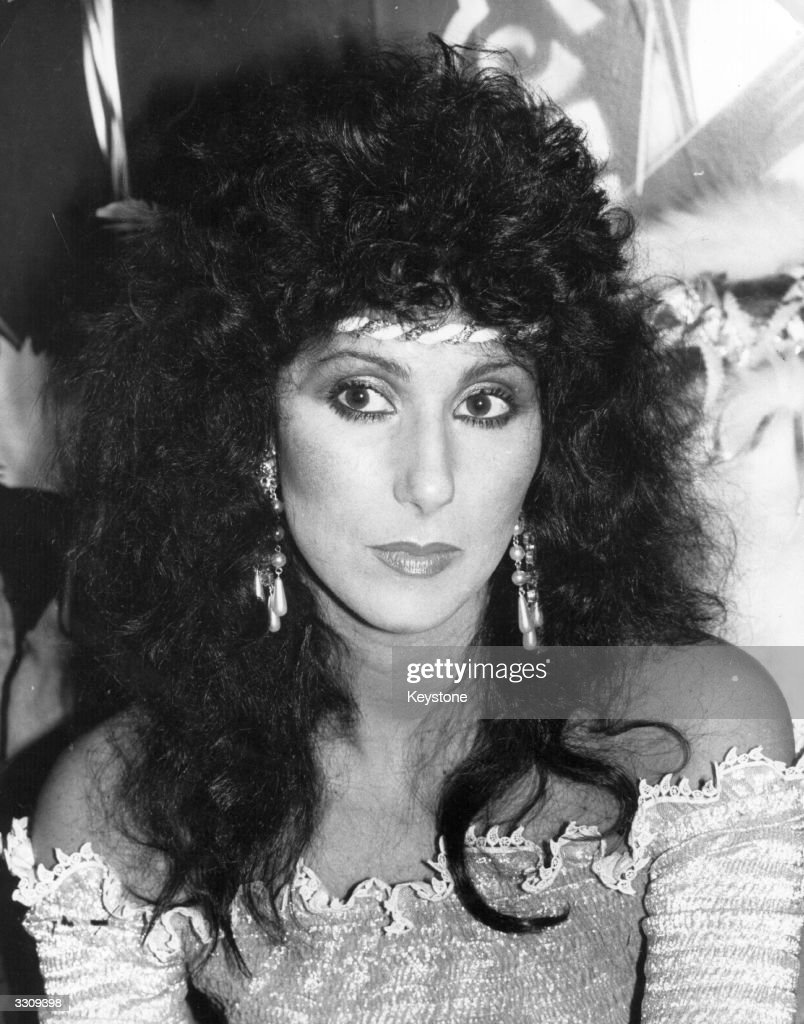 American singer and actress Cher