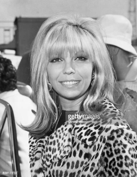 American singer and actress Nancy Sinatra 1966