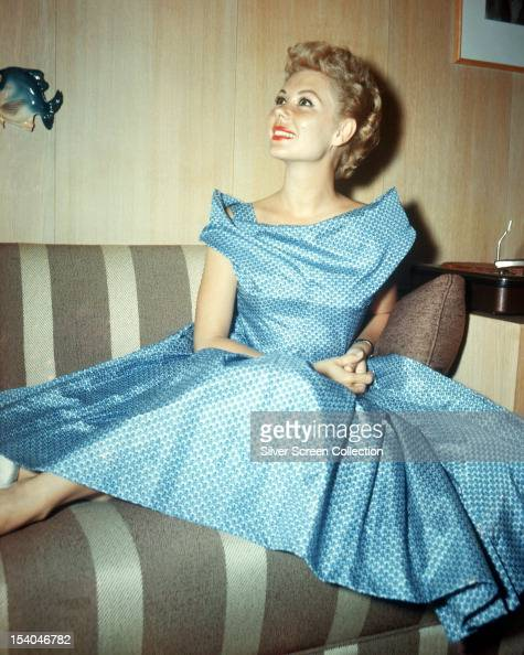 American singer and actress Shirley Jones circa 1955