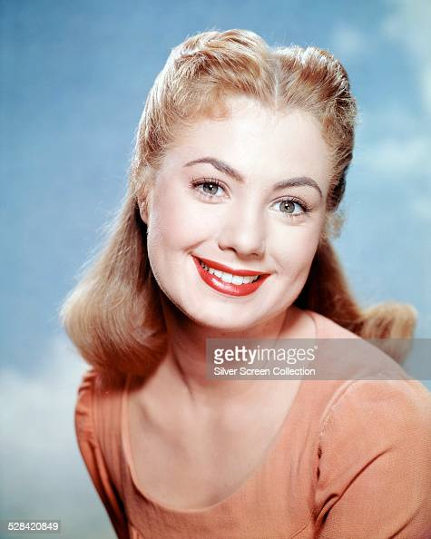American singer and actress Shirley Jones in a promotional portrait for 'Carousel' directed by Henry King 1956