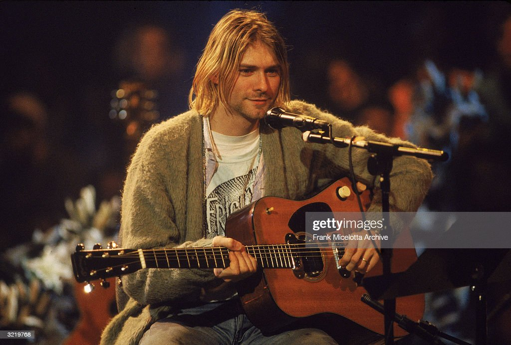 Archive Entertainment On Wire Image: Nirvana And Kurt Cobain