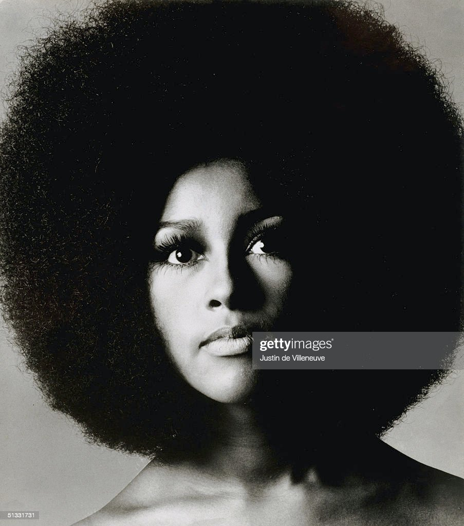 American singer and novelist Marsha Hunt at the time of her appearance in the stage musical 'Hair', 1968.