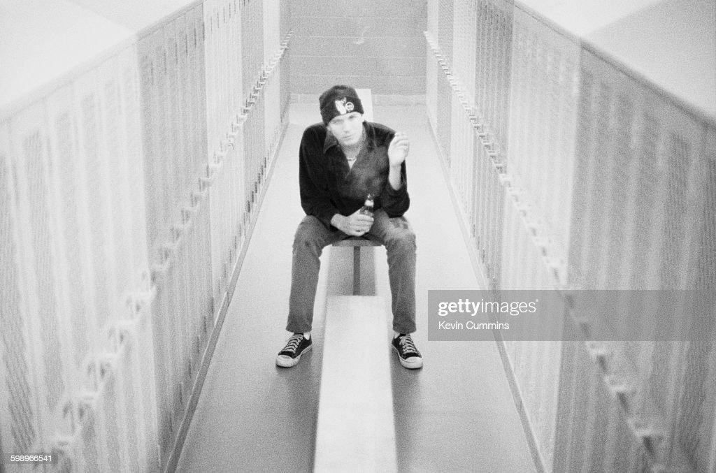 American singer and songwriter Evan Dando of The Lemonheads Salem Massachusetts 17th April 1994
