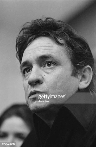 American singer and songwriter Johnny Cash 9th September 1971