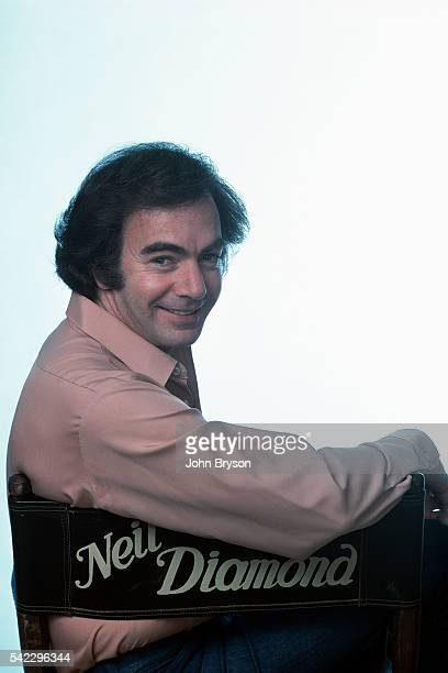 American singer and songwriter Neil Diamond.