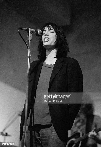 American singer and songwriter Patti Smith performing at the Ocean Club New York 21st July 1976