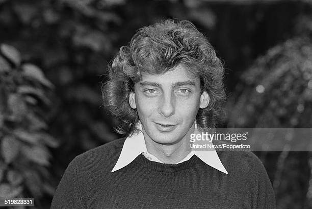 American singer Barry Manilow pictured in London on 24th November 1980