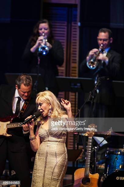 American singer Beverly Taki performs with the David Shenton Orchestra at Zankel Hall at Carnegie Hall New York New York June 6 2014
