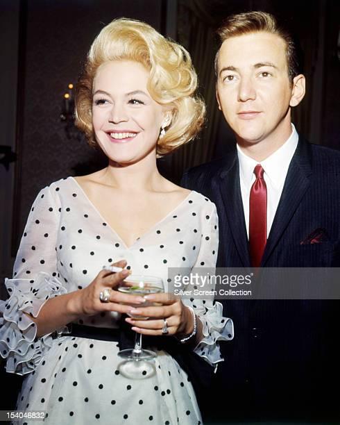 American singer Bobby Darin and his wife actress Sandra Dee circa 1964