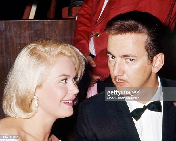 American singer Bobby Darin and his wife actress Sandra Dee circa 1962