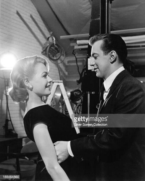 American singer Bobby Darin and his wife actress Sandra Dee circa 1960