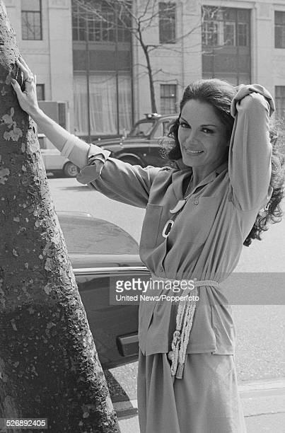American singer Connie Francis pictured in London on 24th April 1978