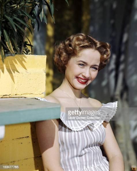 American singer dancer and actress Jane Powell circa 1955