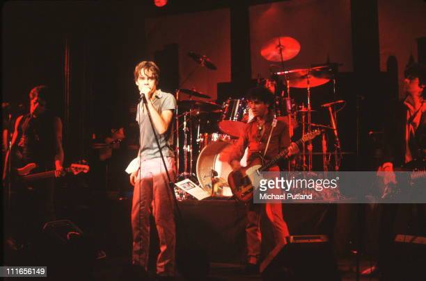 American singer David Johansen performing on stage USA September 1978