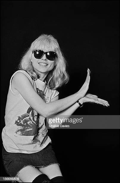 American singer Debbie Harry of Blondie London 1977