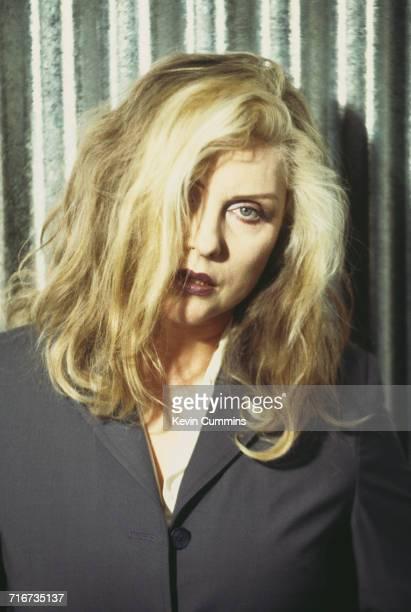 American singer Debbie Harry of new wave band Blondie circa 1995