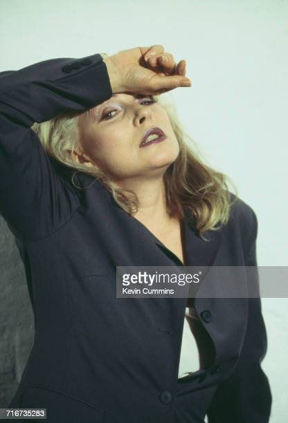 American singer Debbie Harry of new wave band Blondie circa 1995