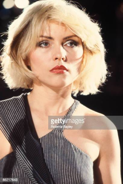 Photo of Debbie HARRY and BLONDIE Debbie Harry on the set of the 'Heart of Glass' video shoot 1979