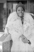 American singer Dionne Warwick London 27th November 1973