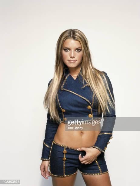 American singer Jessica Simpson circa 2000