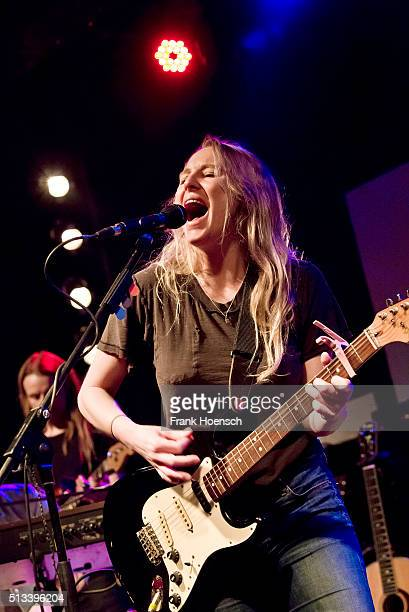 American singer Lissie performs live during a concert at the Postbahnhof on March 2 2016 in Berlin Germany