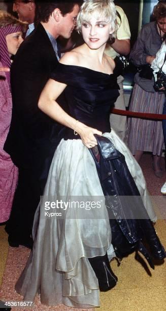 American singer Madonna circa 1985