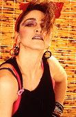 American singer Madonna in New York 1984