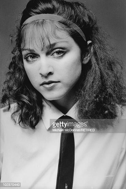 American singer Madonna New York City Autumn 1978 She has recently moved to New York City to study dance