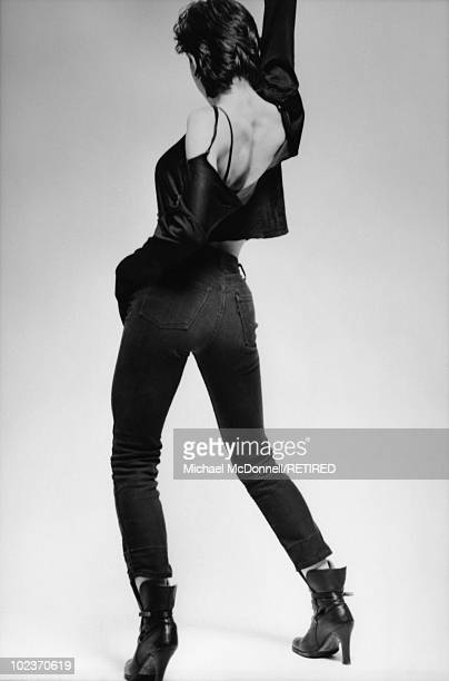 American singer Madonna New York City Spring 1979 She has recently moved to New York City to study dance