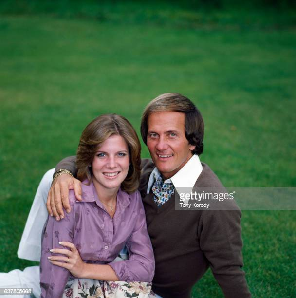 American singer Pat Boon with his daughter Debbie also a singer