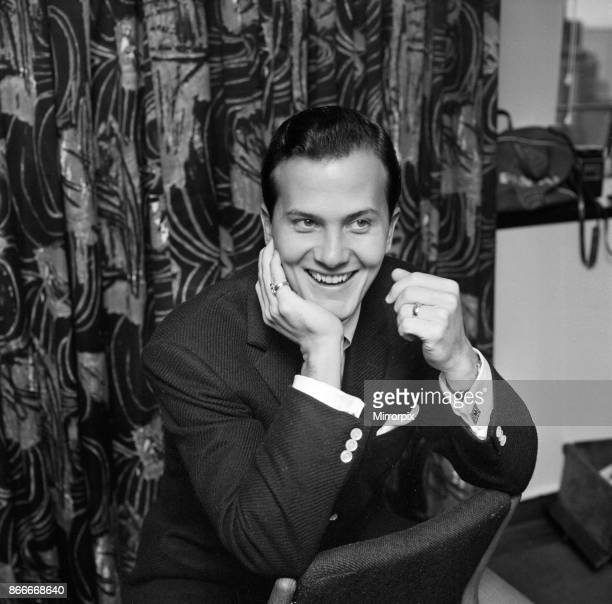 American singer Pat Boone He is in London for the 'Sunday Night at the London Palladium' show on the 14th February 12th February 1960