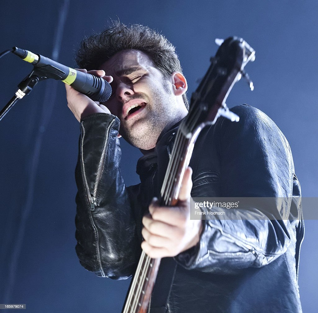 American singer <a gi-track='captionPersonalityLinkClicked' href=/galleries/search?phrase=Robert+Levon+Been&family=editorial&specificpeople=4414301 ng-click='$event.stopPropagation()'>Robert Levon Been</a> of Black Rebel Motorcycle Club performs live during a concert at the Columbiahalle on April 7, 2013 in Berlin, Germany.