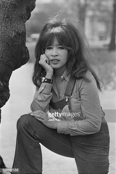 American singer Ronnie Spector formerly lead singer of the Ronettes UK 28th April 1971
